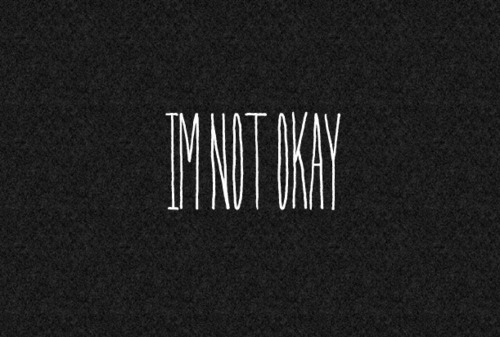 Photos Sad Depressed Tumblr Quotes: I'm A Little Fucked Up