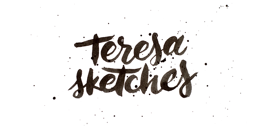 Teresa sketches — keep it simple stupid