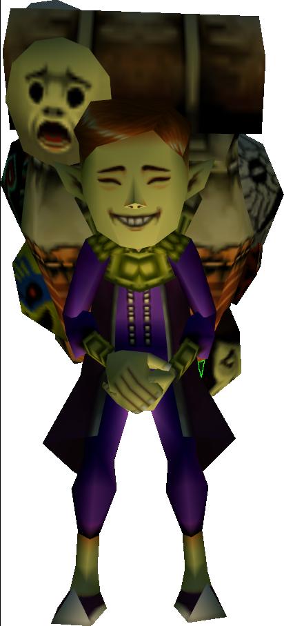 Happy Mask Salesman Free Ascensions