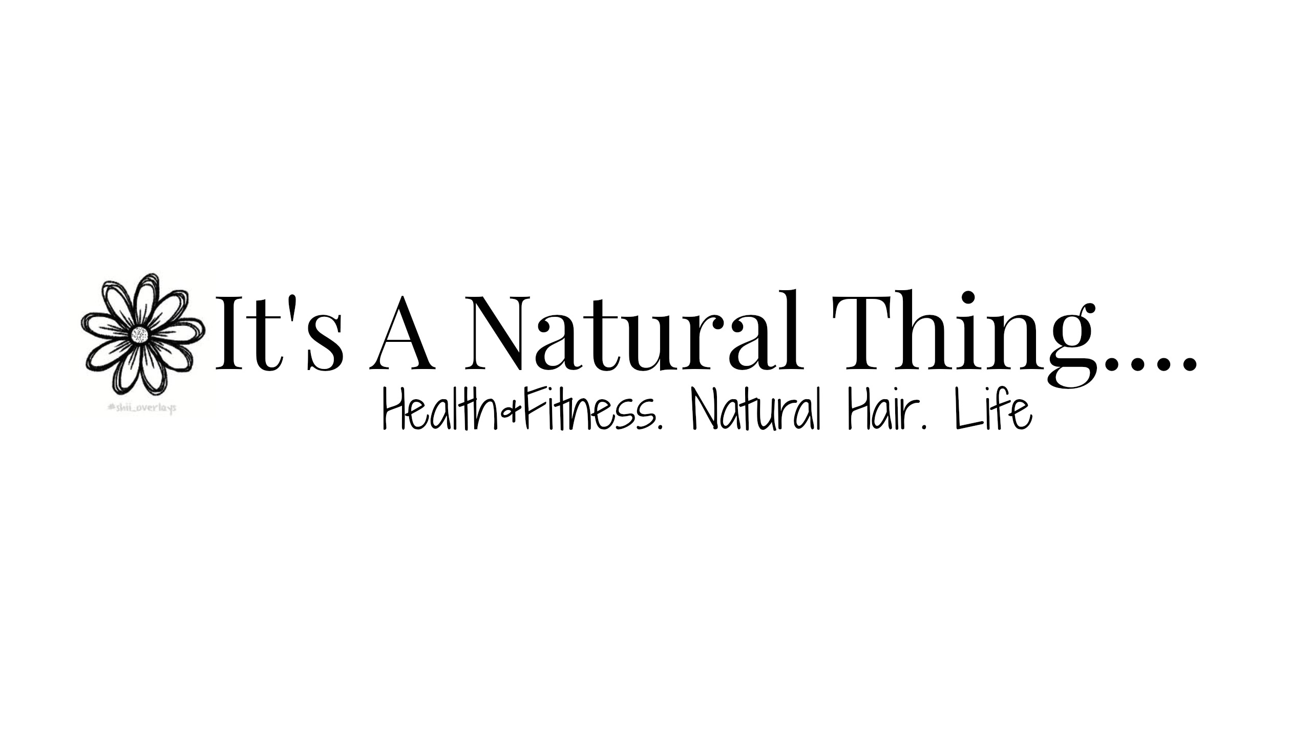 It's A Natural Thing...