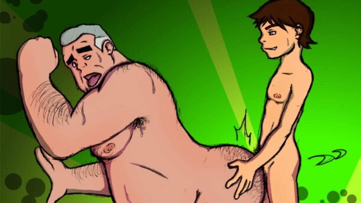 Порно Геи Дядя