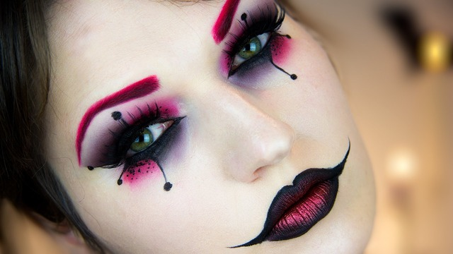 diy halloween makeup | Tumblr