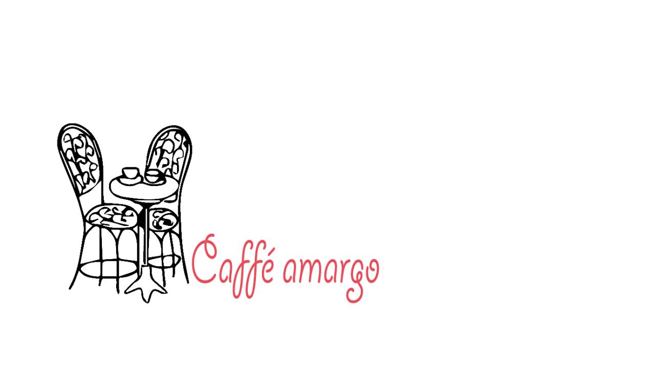 Caffé Amargo