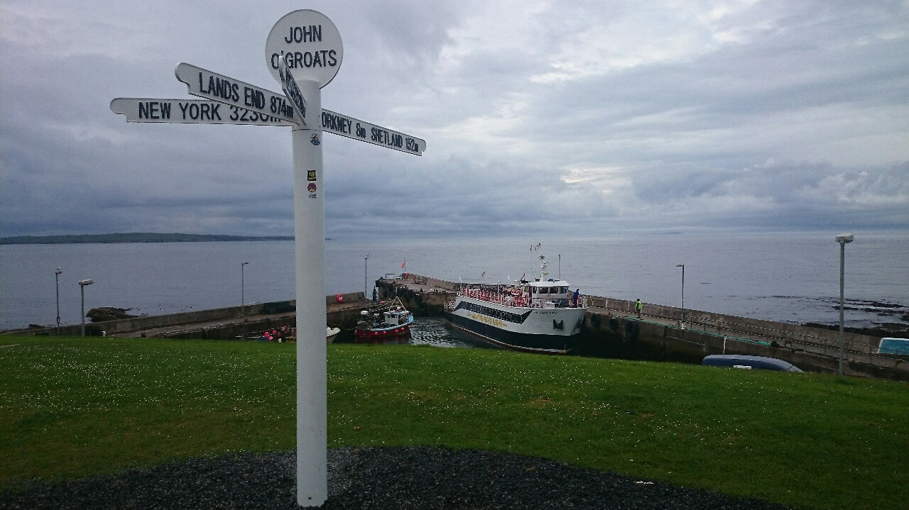 John O' Groats Duncansby head to Lands End by foot — Day ...
