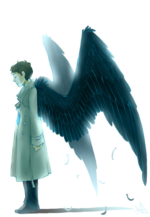 Gallery images and information: Castiel Wings Drawing