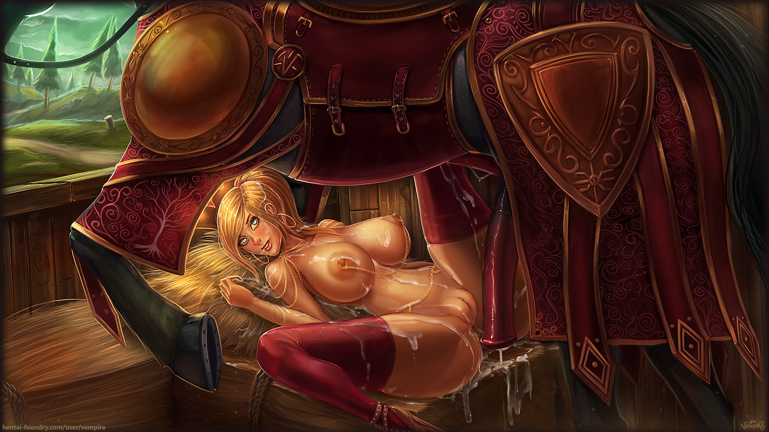 Cum covered world of warcraft sexy photos