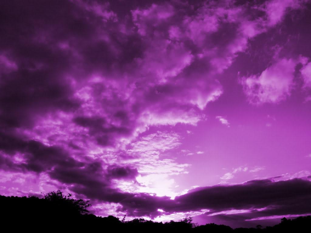 cloudy purple wallpaper - photo #1