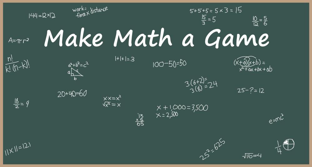 Make Math A Game
