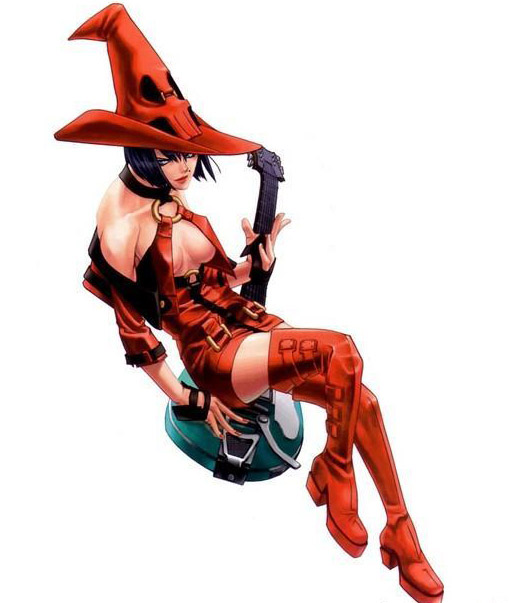 Guilty Gear Guitar For I-no From Guilty Gear