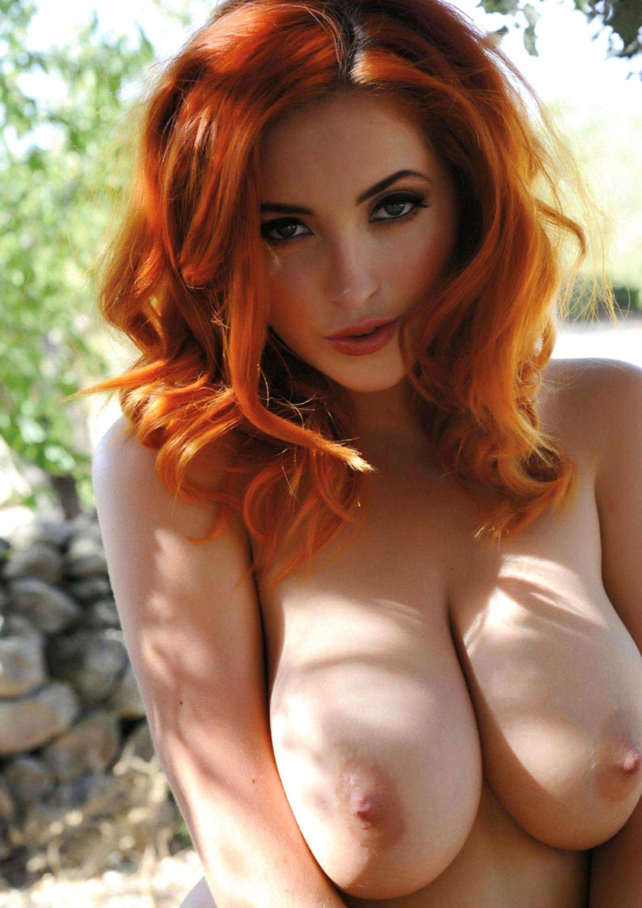 big tit red heads
