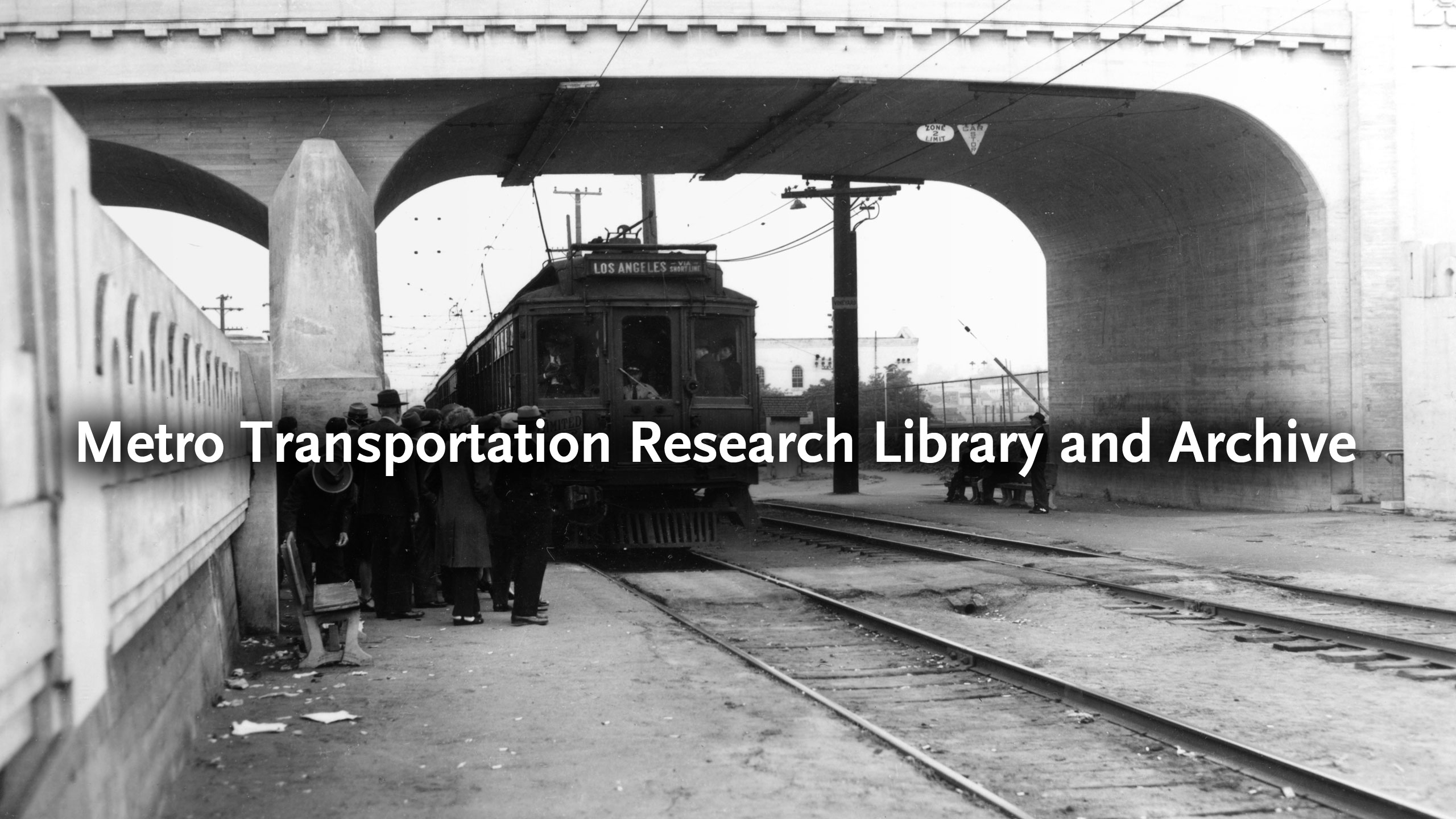 Los Angeles Metro Transportation Research Library