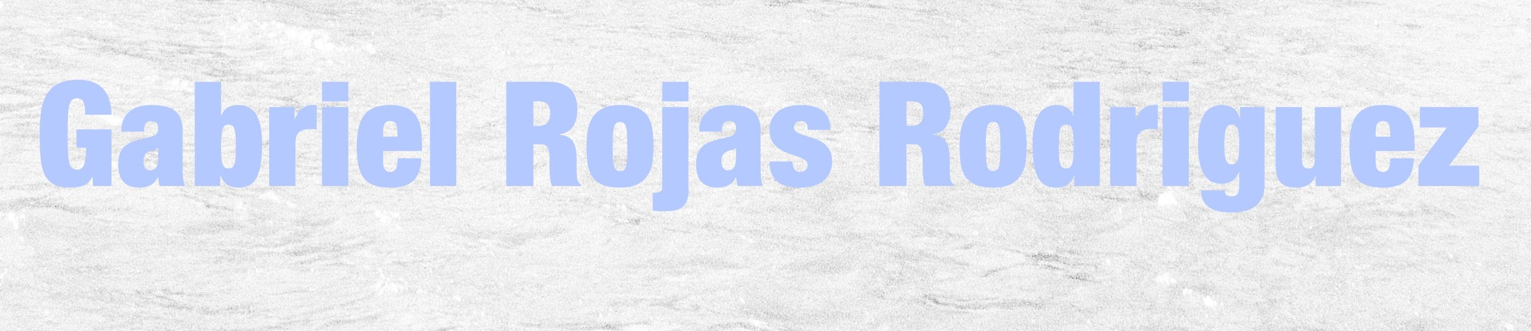 Gabriel Rojas Rodriguez