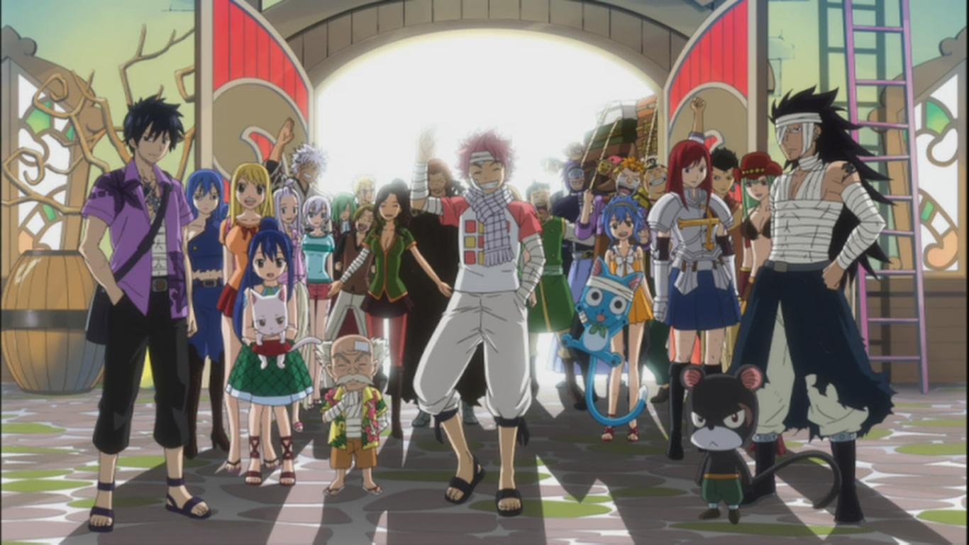 Fairy Tail Guild Wallpaper Hd Just Random Anime &...