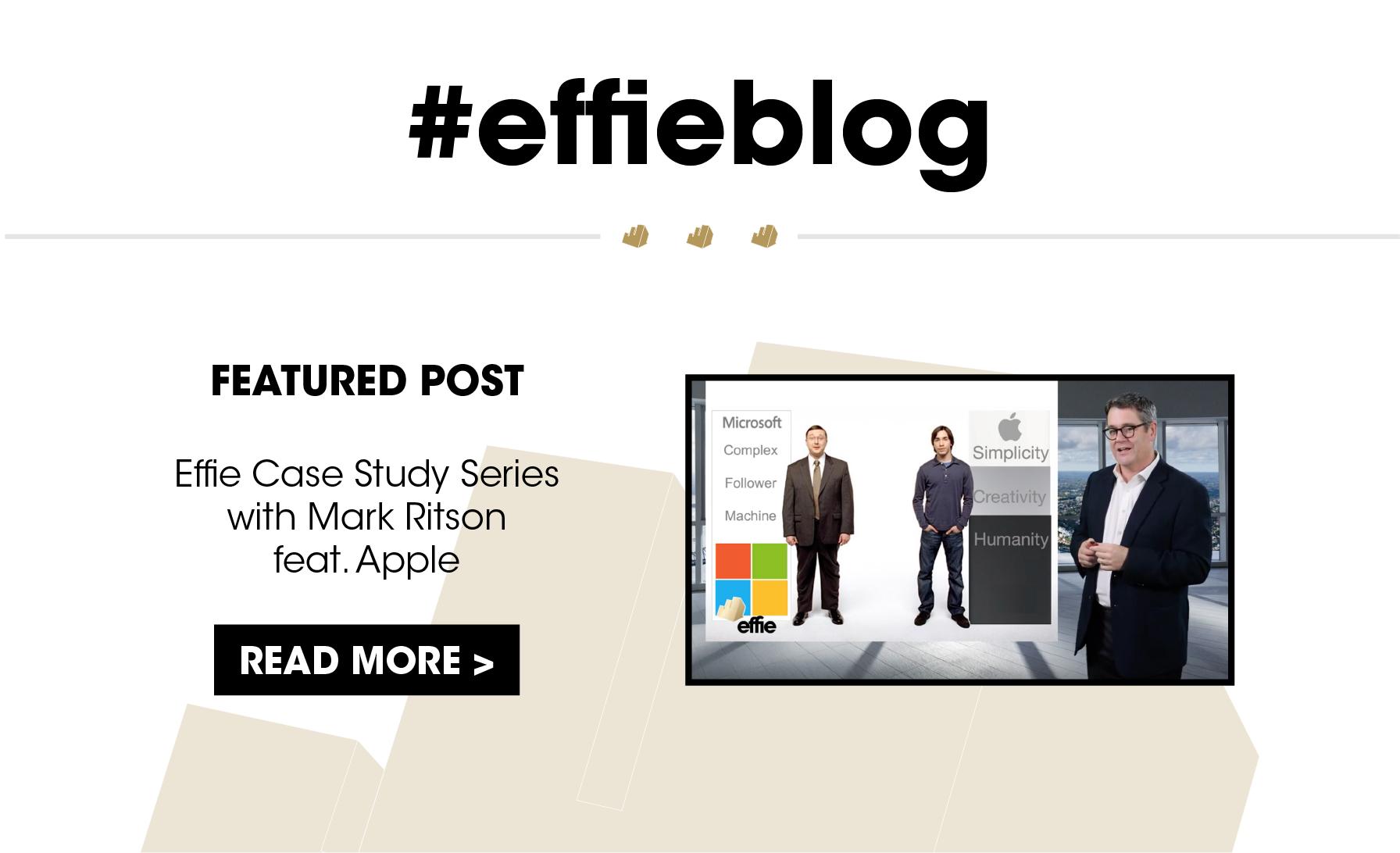 Effie Worldwide Blog • Effie Case Study Series with Mark Ritson