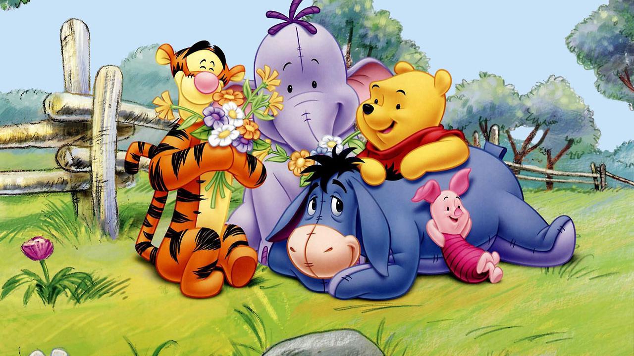 Винни пух и его друзья картинка для детей