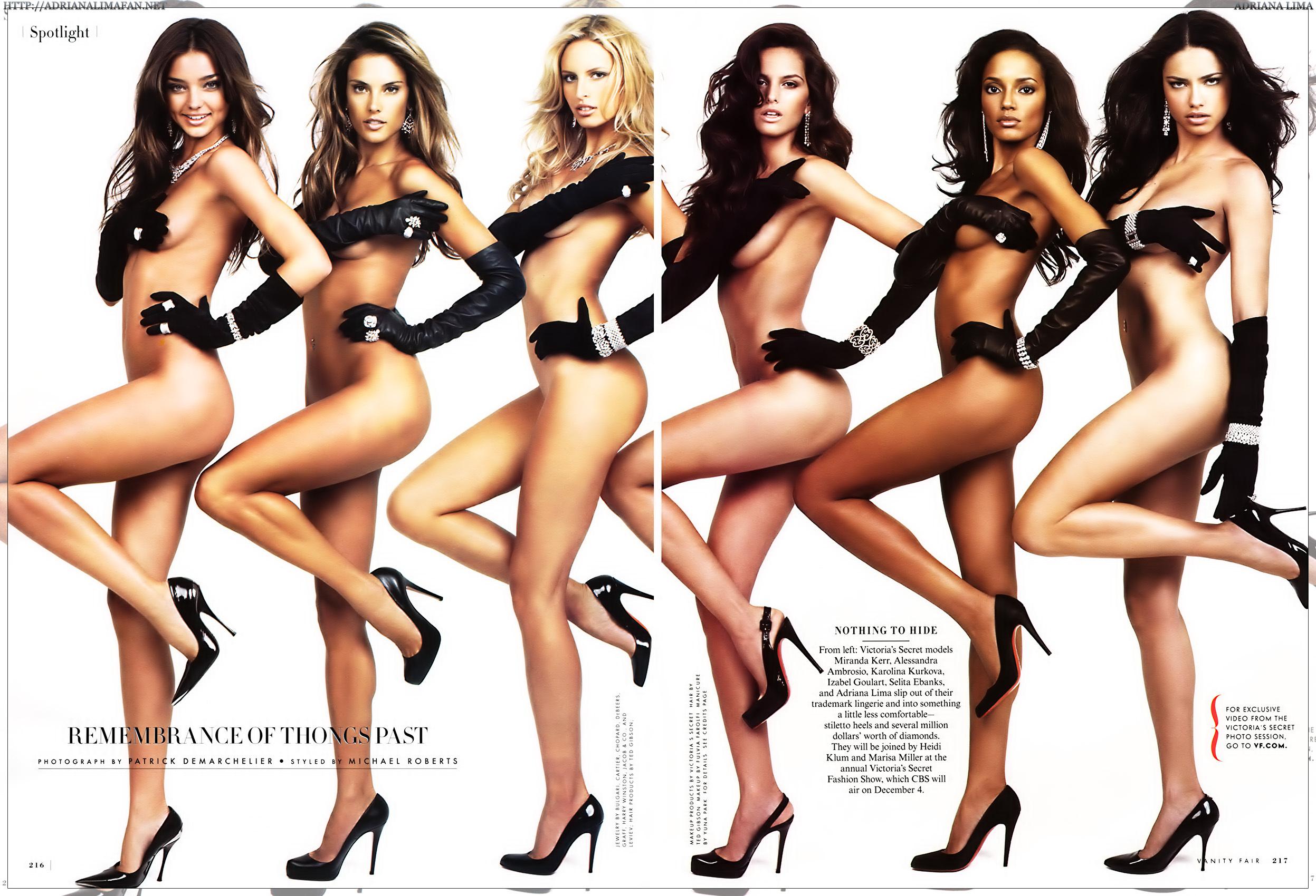 Victoria secret body models