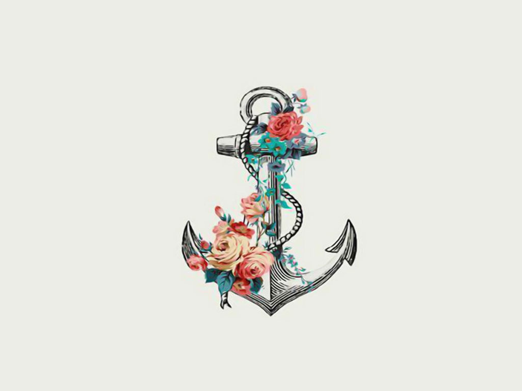 Anchor with flowers tattoos pinterest - Anchor pictures tumblr ...