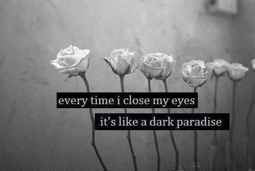 Dark Quotes About Love Tumblr : Se vi amate fate lamore, non le promesse.
