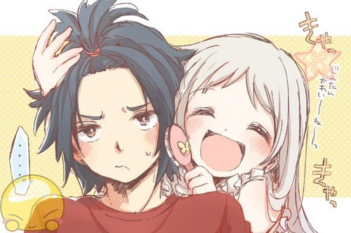 Anime couple cute tumblr cute anime couples like us altavistaventures Images