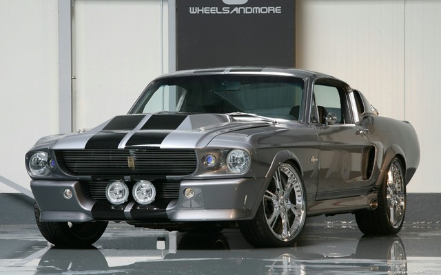 Mustang shelby gt500 super snake wide body