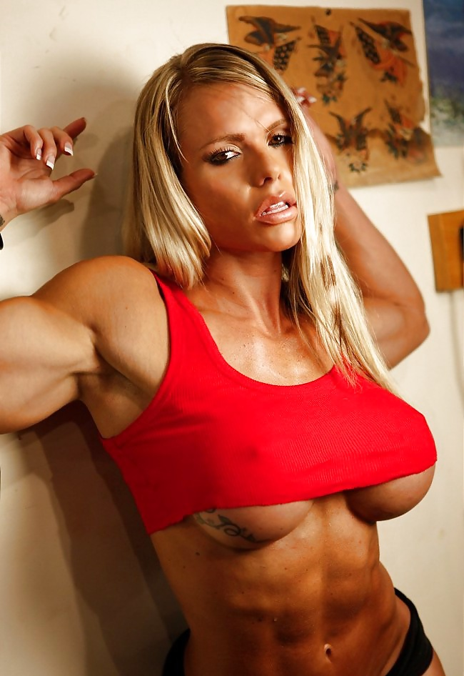 Entertaining female body builders nude you
