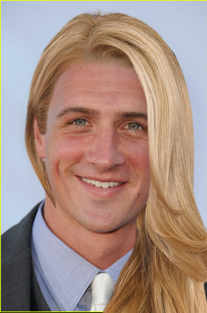 Man With Blonde Wig - Wigs By Unique a34c5f682