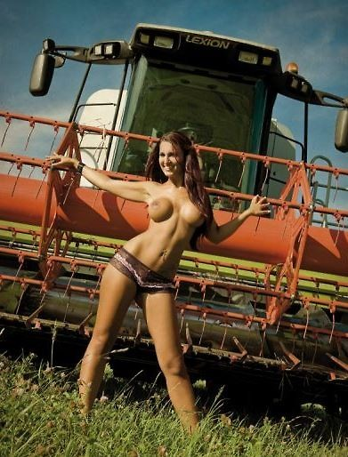 Not pay Sexy naked tractor babes share