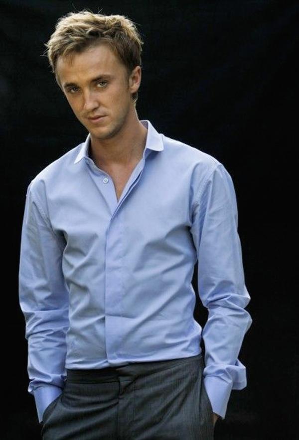 Tom felton shirtless