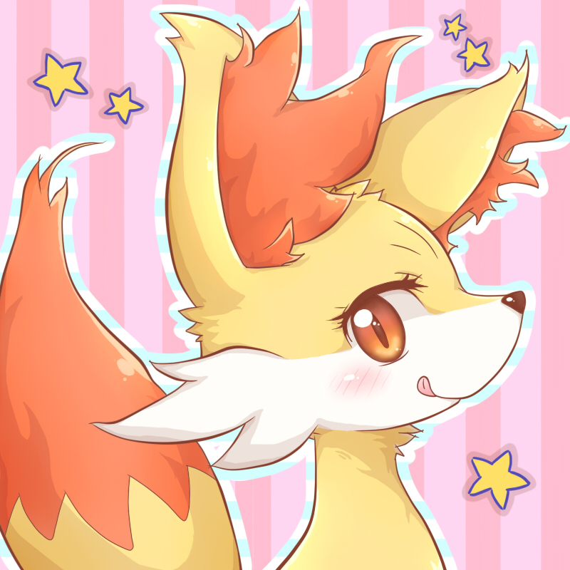 Love Each Other When Two Souls: A Cute Fire Fox Pokémon
