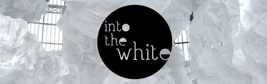 Into the white