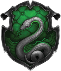 slytherin crest  wow i love your