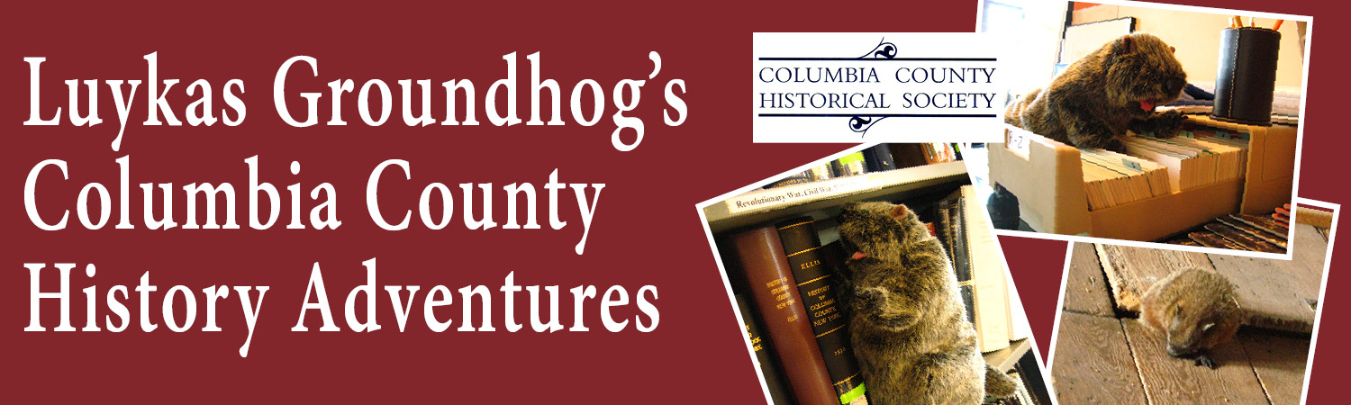 Luykas Groundhog's Columbia County Adventures