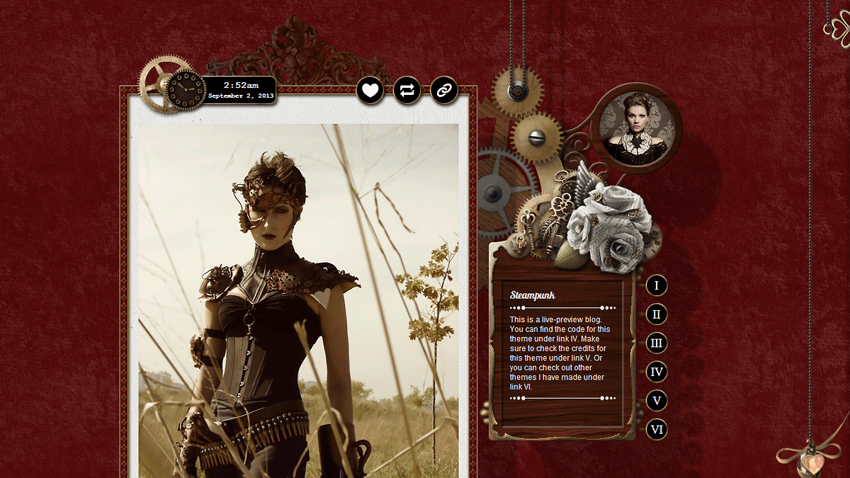 Steampunk Tumblr Themes