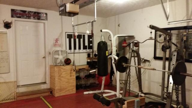 Diy home gym loopele