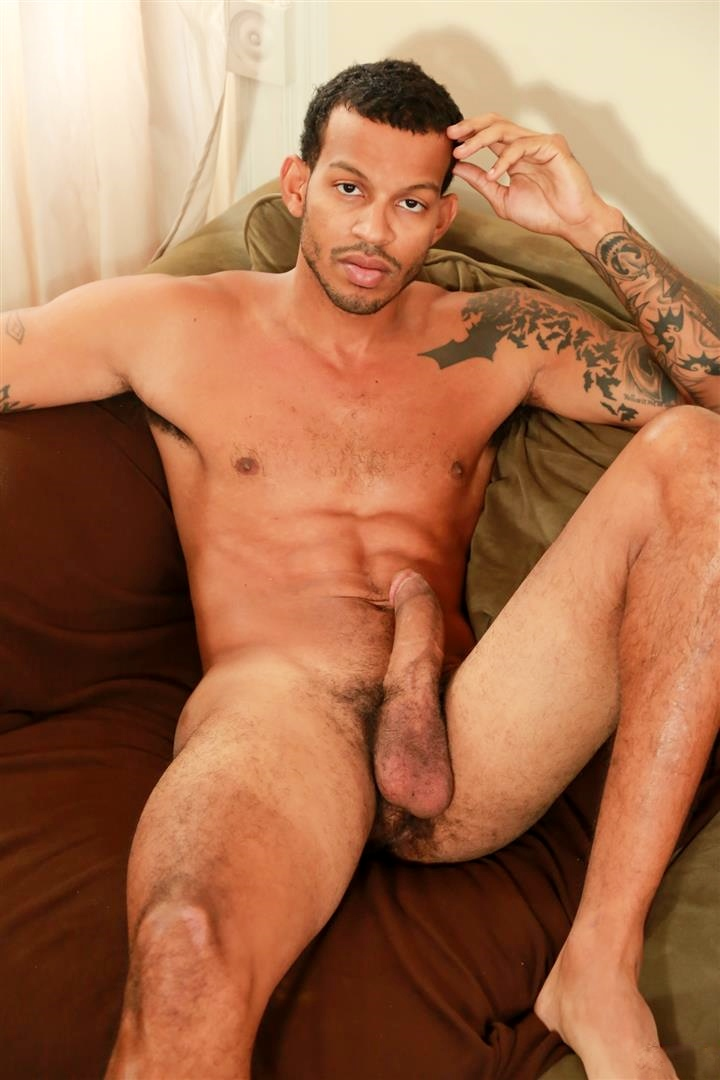 Naked black men cock hard