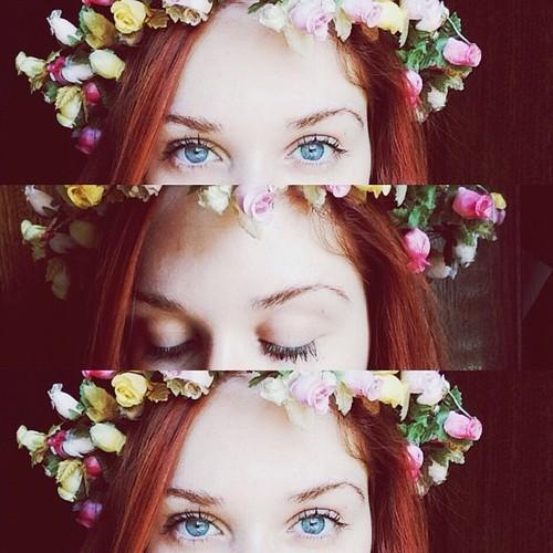 Resultado de imagem para meninas flores tumblr