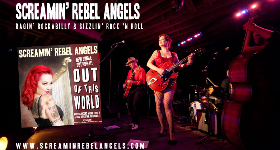 Screamin Rebel Angels