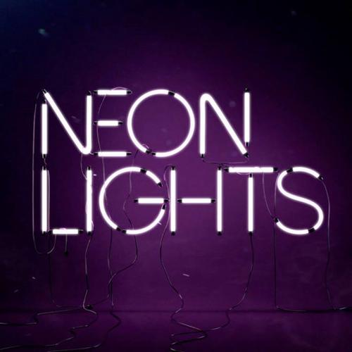 Neon Lights Tumblr Theme