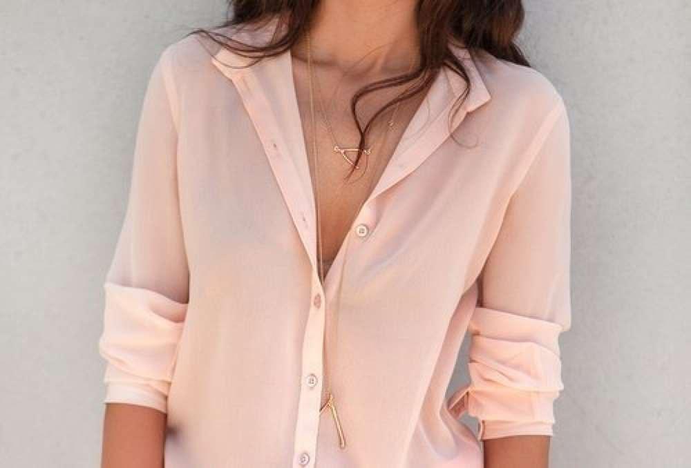 Розовую Блузку
