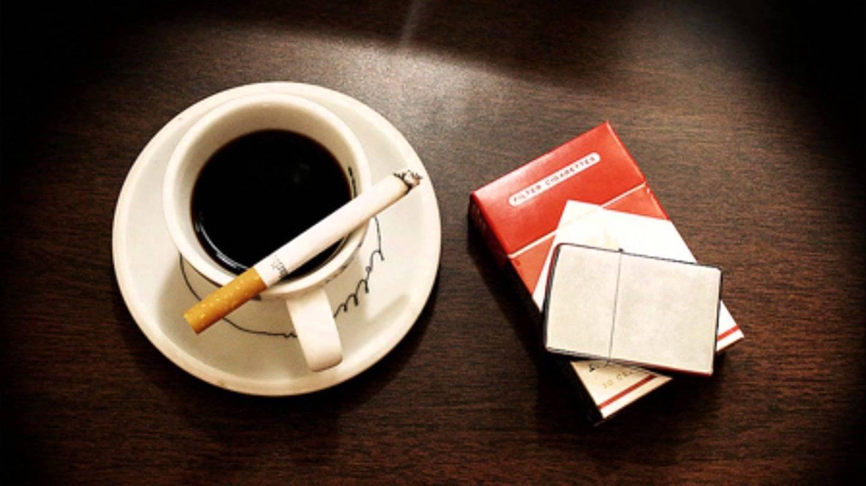 Открытка сигареты