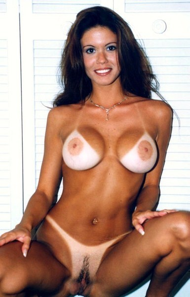 Mature milf tan lines