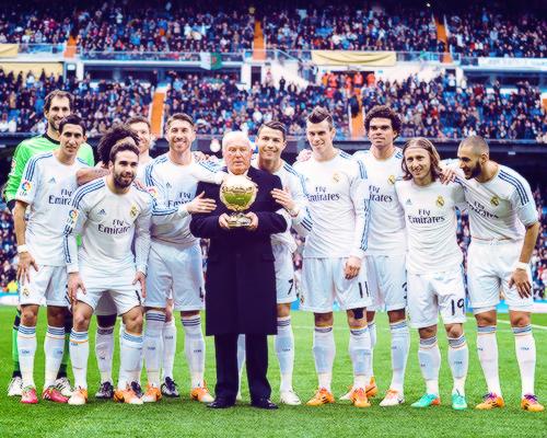Real Madrid 2015 Team