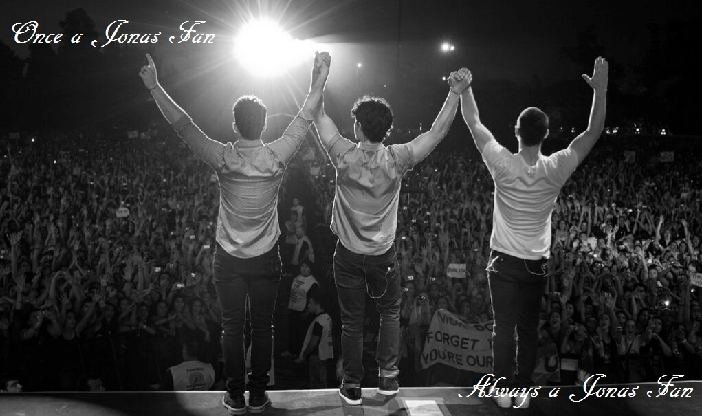 Once a Jonas Fan ♥ Always a Jonas Fan