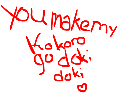 Makin all the kokoros go doki doki♥