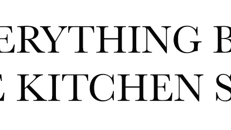 everything but the kitchen sink - Kitchen Sink Lyrics
