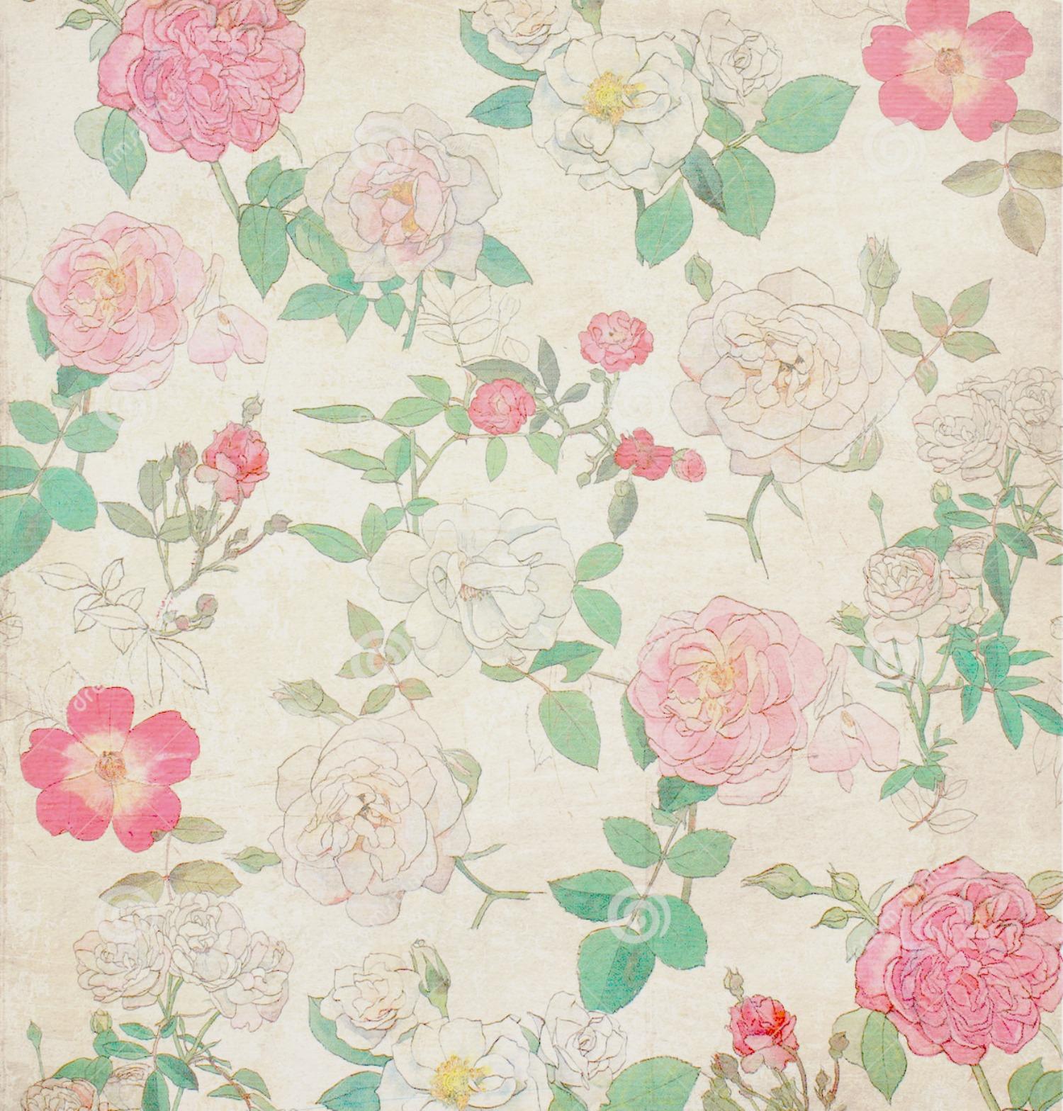 vintage flowers on tumblr - photo #9