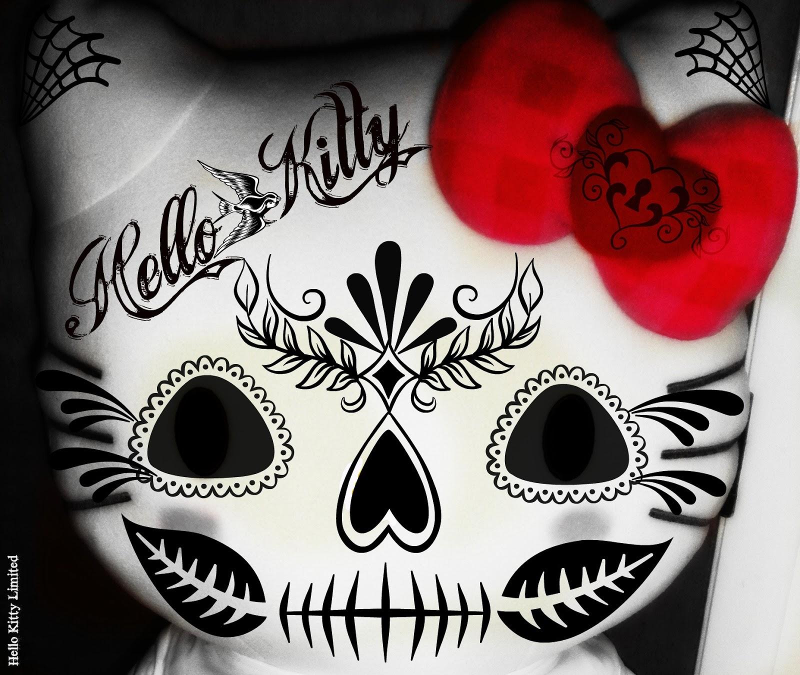 Kitty tattoo hello