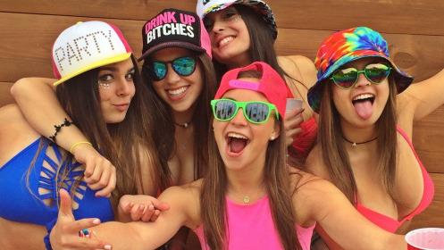 Cute College Girls
