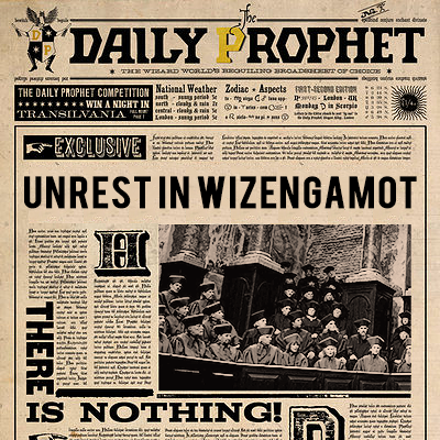 The top wizarding news, coming straight home to you.