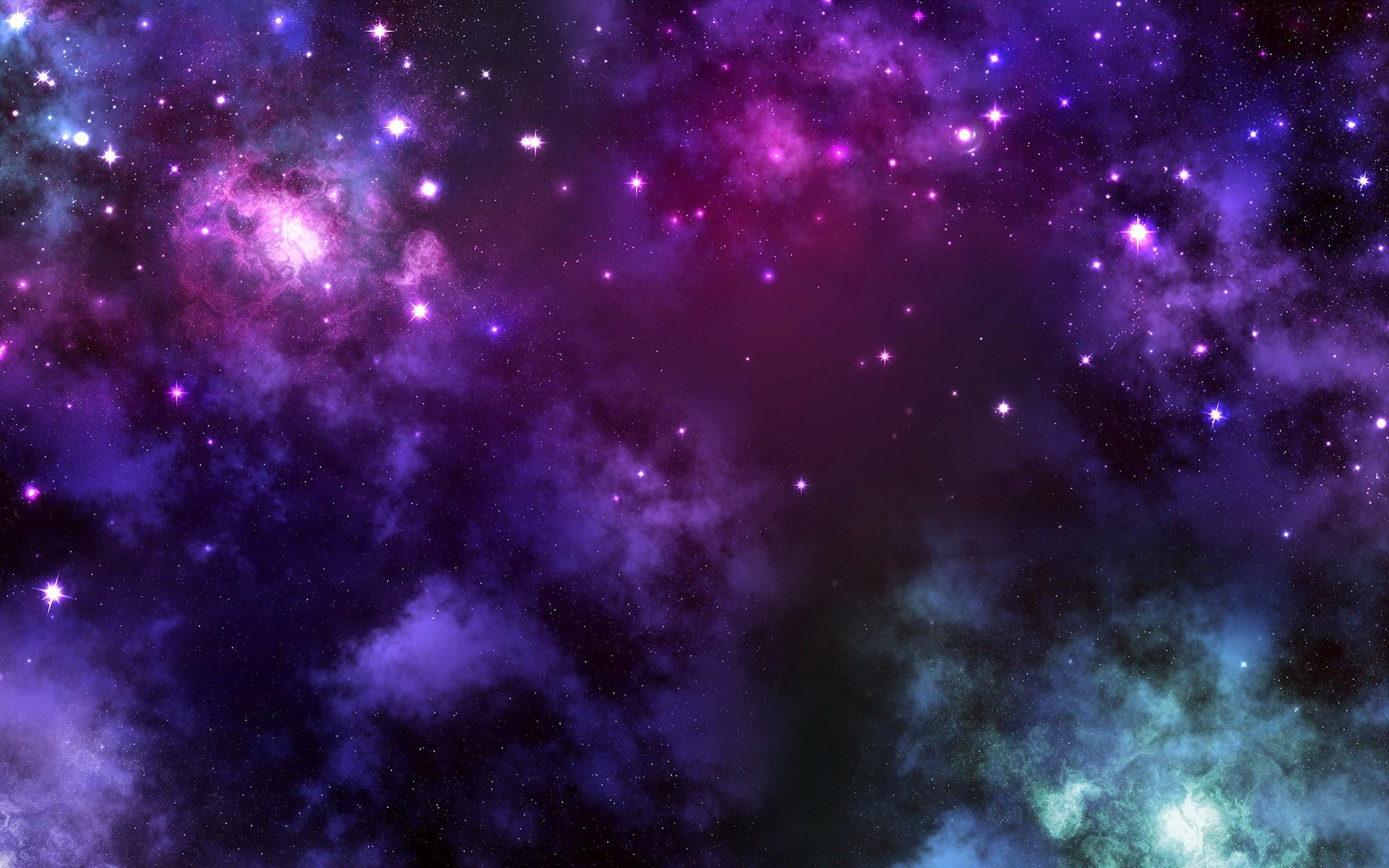 Purple Galaxies Wallpaper - Pics about space